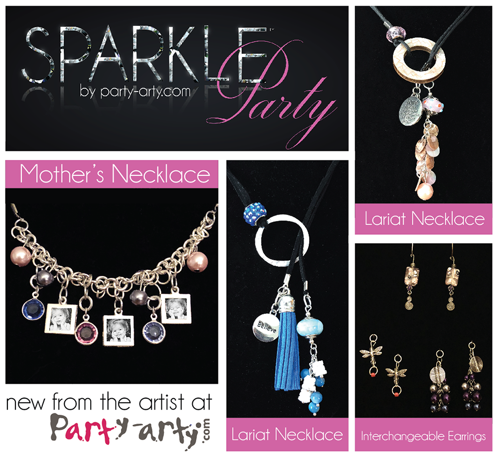 Party Arty Is Excited To Introduce Sparkle Parties A Fun And New Alternative Canvas You Your Friends Can Get Together Make Custom