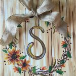 C FALL – PERSONALIZED WREATH