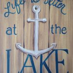 C SIGN – LAKE LIFE ANCHOR