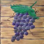 C grapes on barrell copy