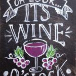 c SIGN – wine oclock