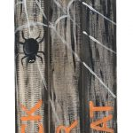 c TRICK OR TREAT SPIDER FENCE