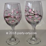 c cherry blossom glasses