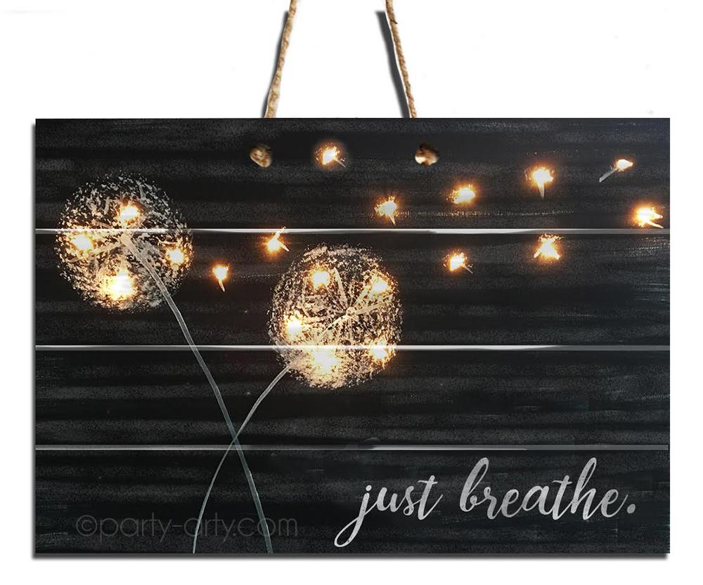 Just Breathe - Pallet with Lights- AUGUST 8 - 6:30PM - REGENCY WINE BAR