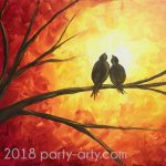 c sunset love birds copy