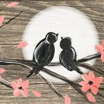 love birds on tile