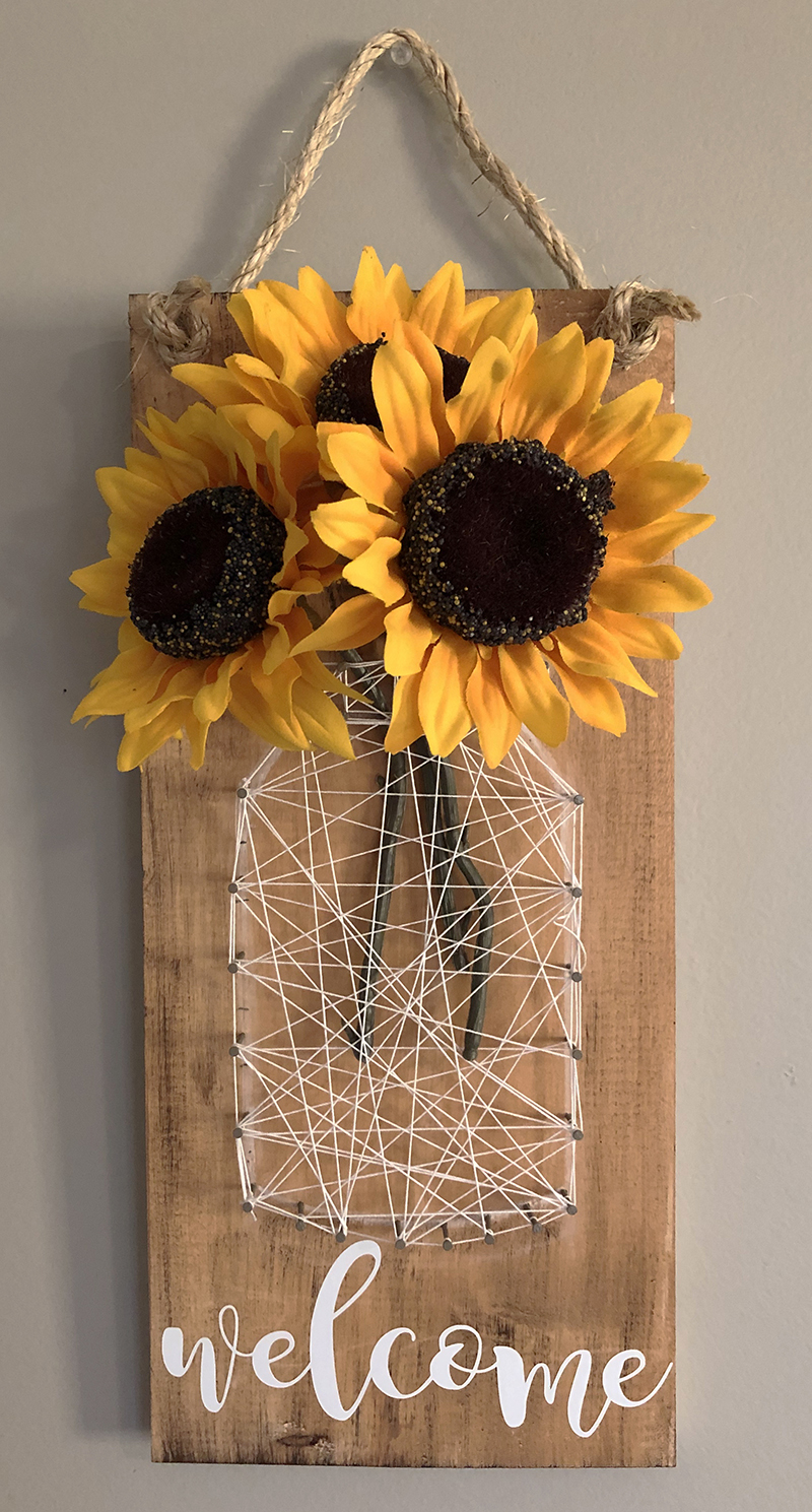 MASON JAR STRING ART - APRIL 24- 6PM - NAUTI VINE WINERY