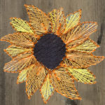 WELCOME SIGN STRING ART - YOUR CHOICE OF DESIGN  - JUNE 20 - SILVER RUN