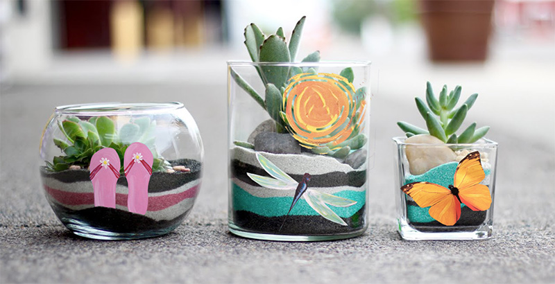 MOTHER'S DAY - Painted Planter & Sand Art -  MAY 9 - FILIA CELLARS