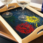 POUR PAINTING FIREWORKS TRAY - JUNE 19 - 6PM - NAUTI VINE WINERY
