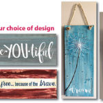 STRING ART - YOUR CHOICE OF DESIGN  - JUNE 20 - SILVER RUN