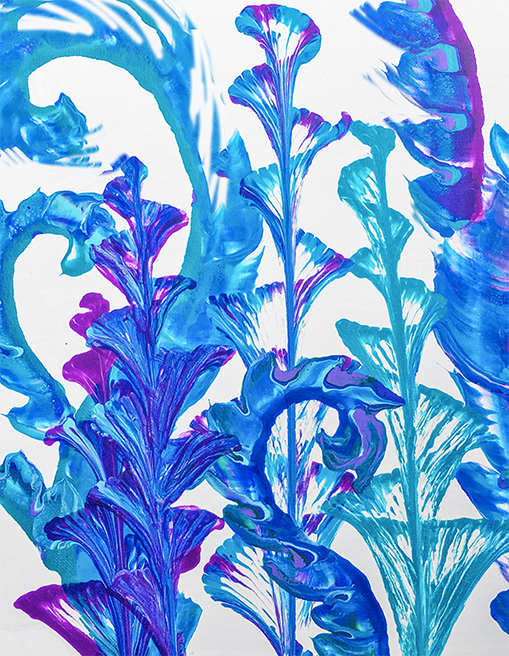 FLUID PAINTING FLOWERS - JULY 31 - 6PM - NAUTI VINE WINERY