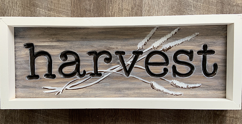 HARVEST ENGRAVED SIGN - SEPT 4 - 6PM - NAUTI VINE WINERY