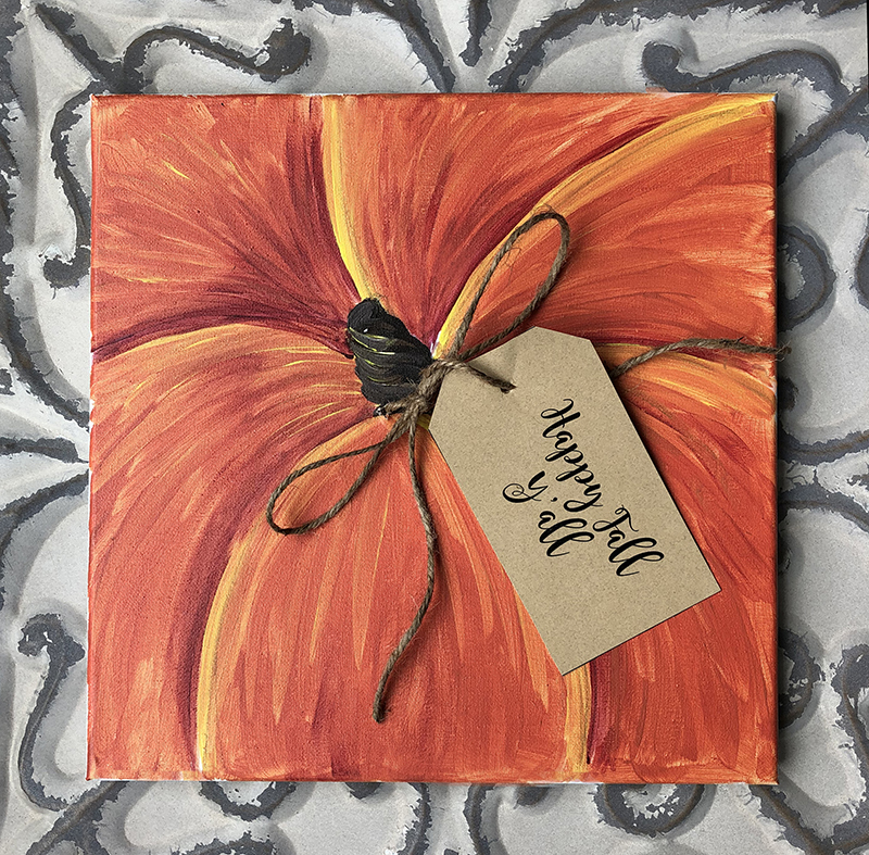 PUMPKIN CANVAS - SEPT 25 - 6PM - NAUTI VINE WINERY