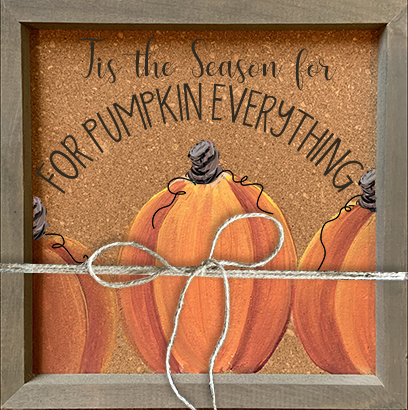 SOLD OUT - FRAMED CORK PUMPKINS - SEPT 11 - 6PM - NAUTI VINE WINERY