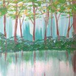 c TREES – spring lake