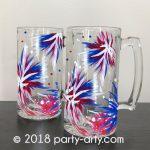 c fireworks beer mugs