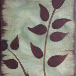 c leaf silhouette