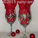 c merry bright glasses