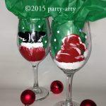 c santa glasses