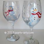 c snowman glasses copy