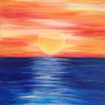 c sunset ocean