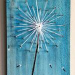 DIY STRING ART - Wishing Flower